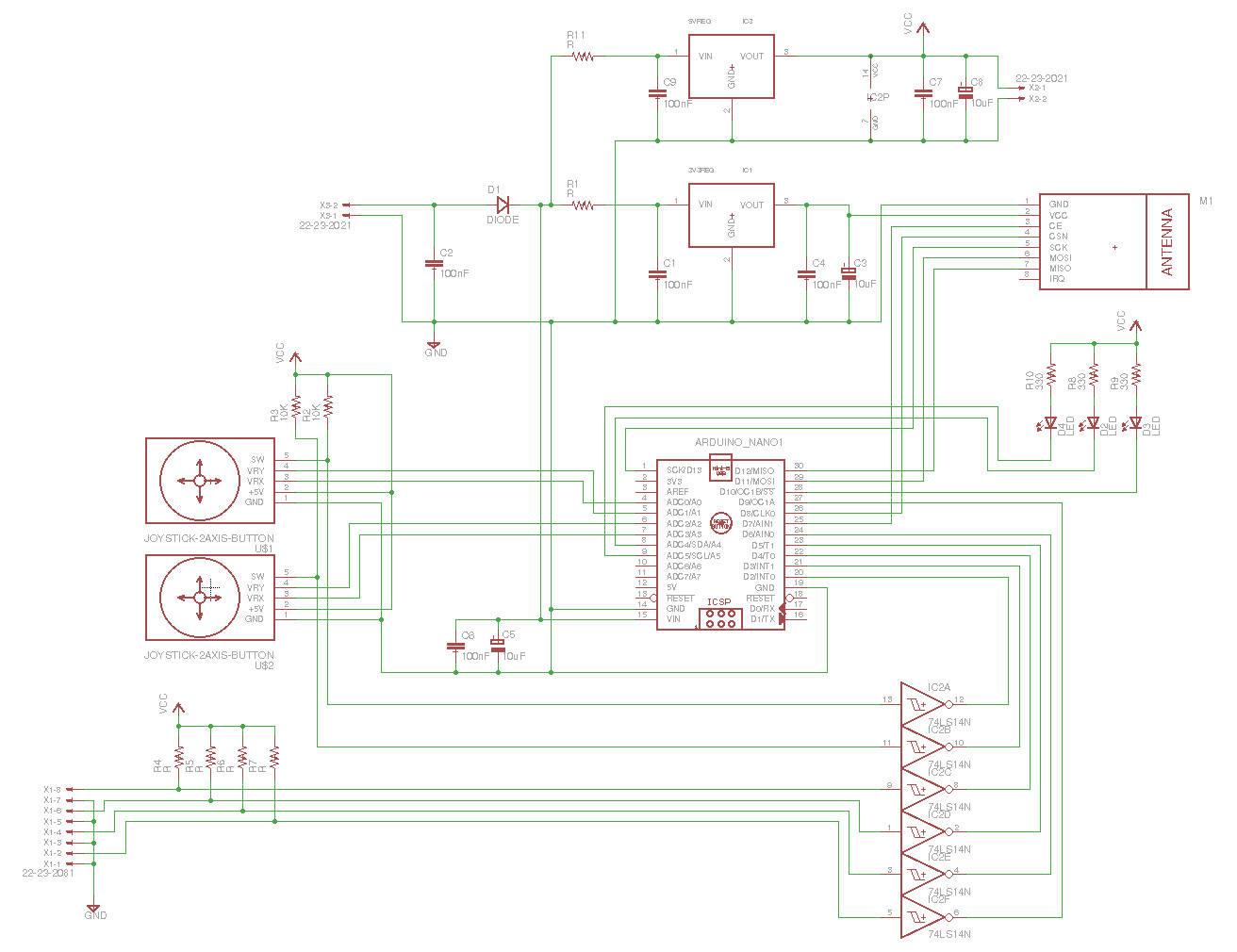 Antweights Robots High Current Dc Motor Driver Schematic Circuit And Pcb The Diagram For Remote Is Shown In Figure 27 Figures 28 30