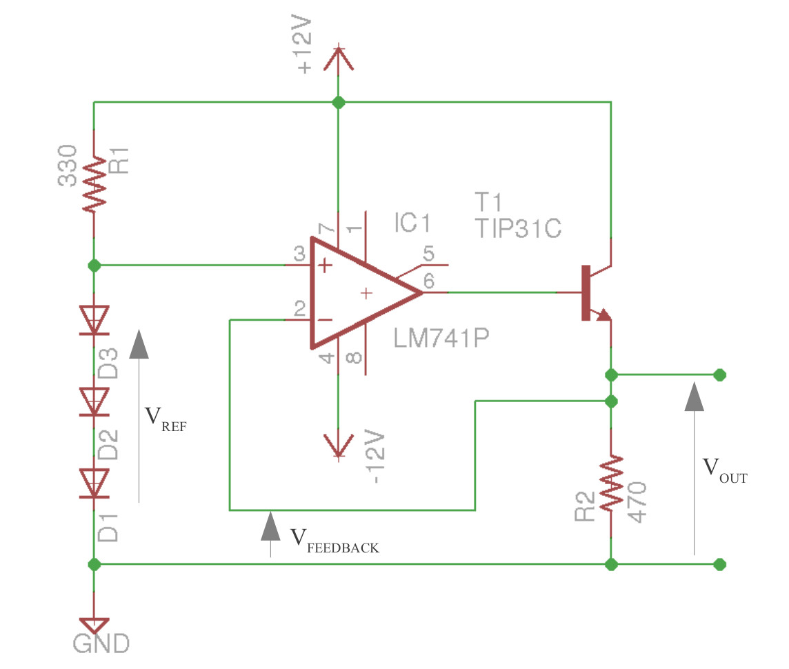 Bug Lift Transistor Line Follower Robot Circuitschematic The Is Configured As An Emitter Acting A Current Amplifier