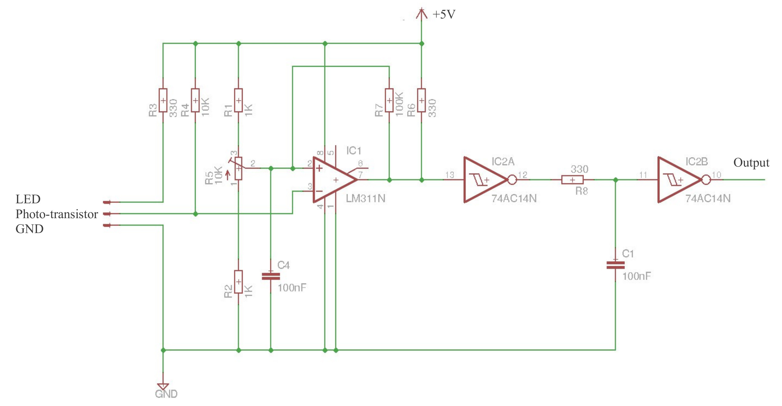 Perpetual Pi Behind Selecting Pwm Frequency For Speed Control Of A Dc Motor Figure 5 Squaring Circuit