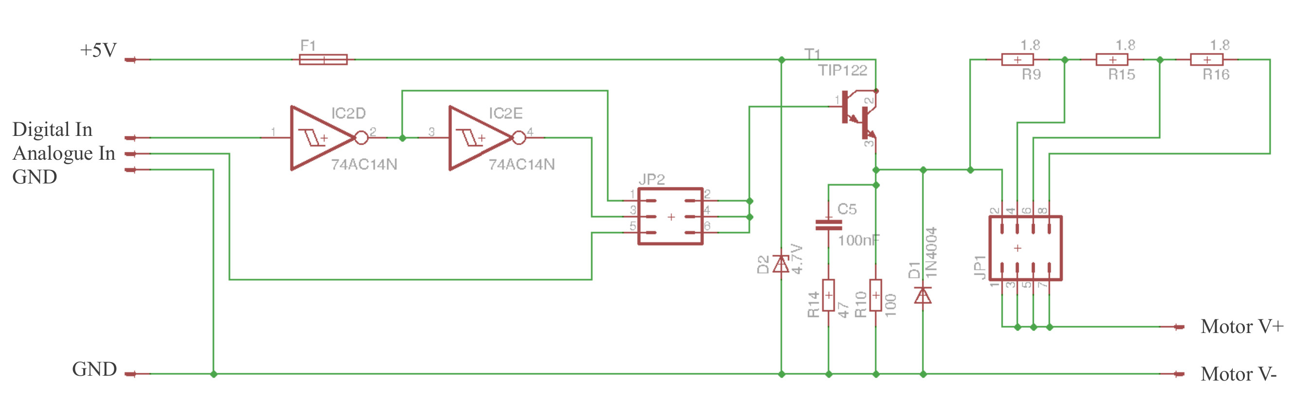 Perpetual Pi Circuit Diagram For A Pulse Width Modulated Variable Frequency Drive Approximating Analogue Control Using Modulation As Shown In Figure 9 The Eagle Files And Pcb Layout This Is Available Here