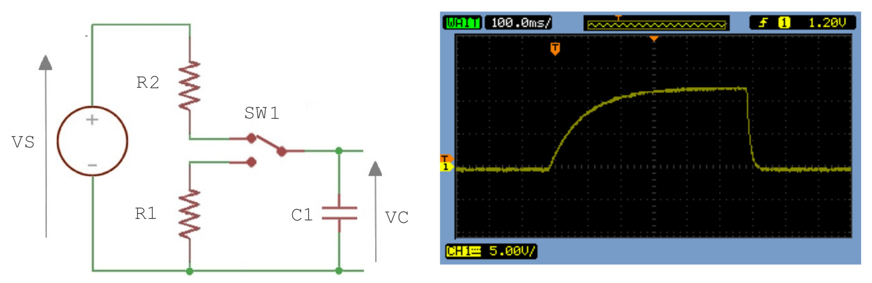 Pi Time Circuit Of A Capacitive Discharge Firing Box Resembles This Figure 26 Simple Capacitor Charge The Sw In Previous