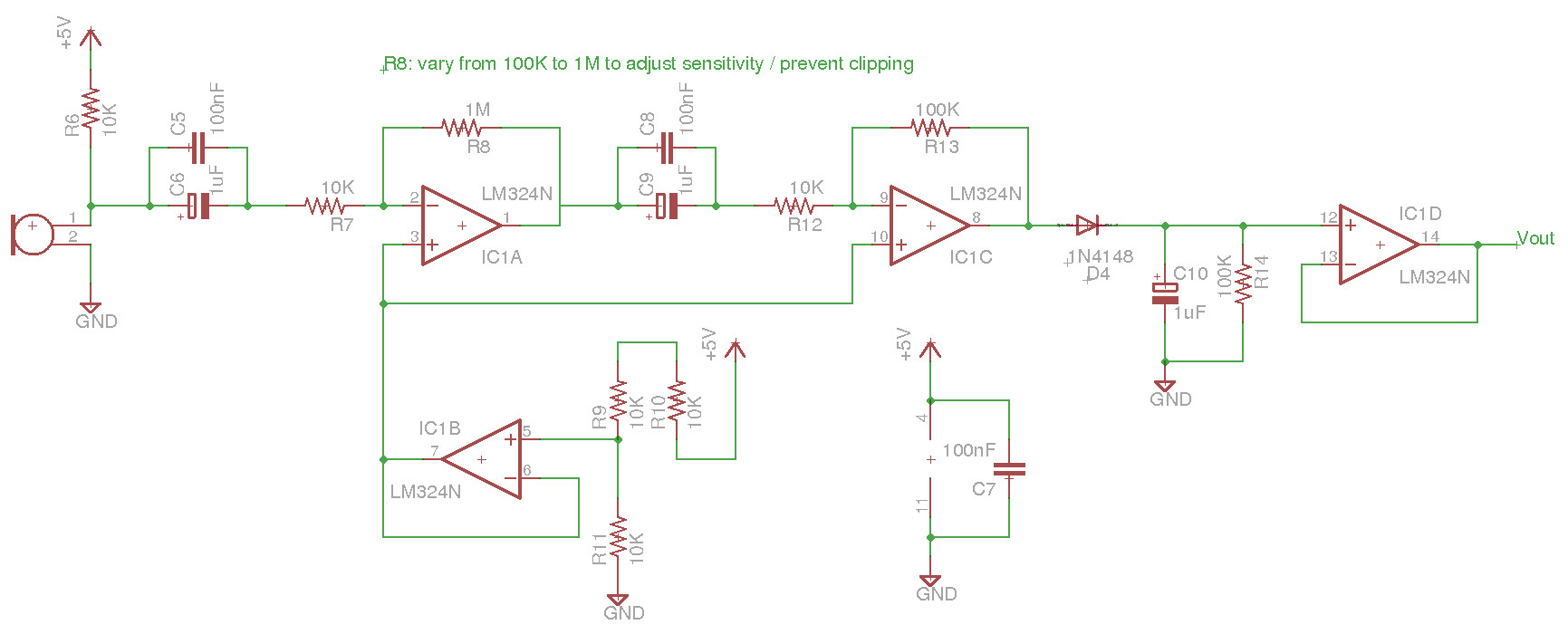Pi Time Lighting Products Metal Related Searchesclapper Switch Clap Light The Amplified Signal Is Then Passed To A Peak Detector Output Signals From These Circuits For And Saying Hello Are Show In Figures 26 27