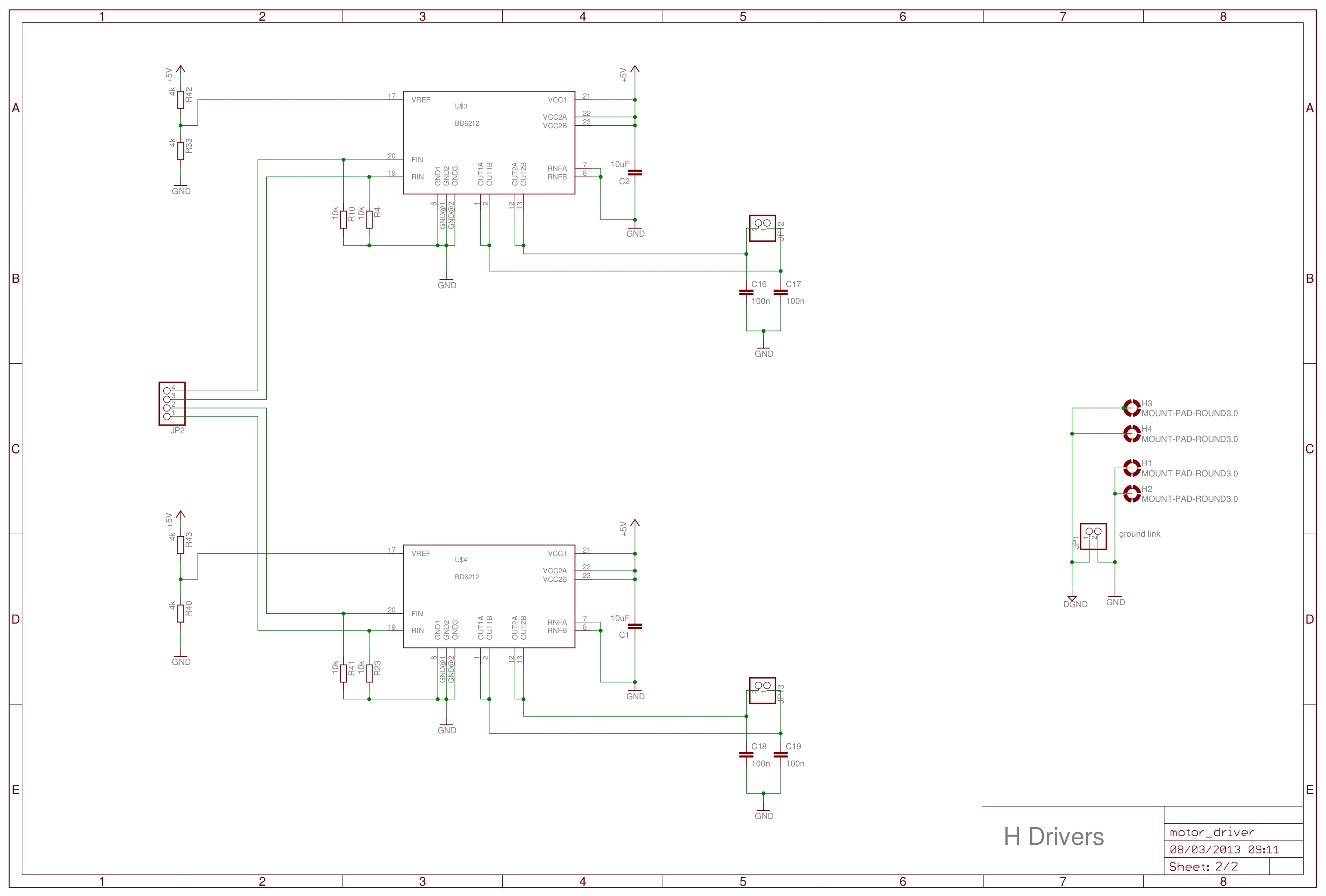 Cockroach V2 5v Regulated Power Supply Circuit Diagram And Figure 11 Motor Driver