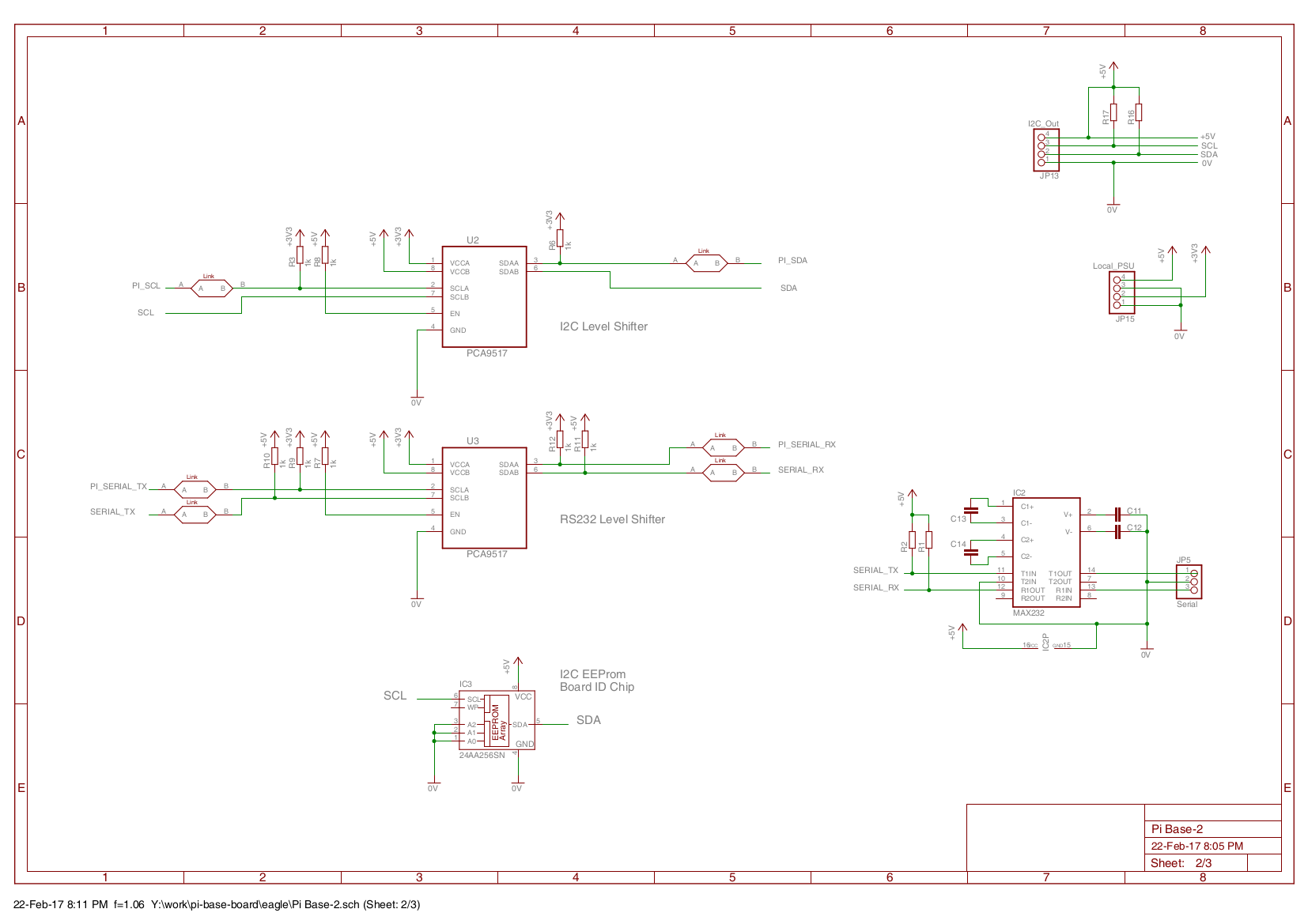 Level Shifter Circuit Raspberry Pi I O Card Schematics Pcb