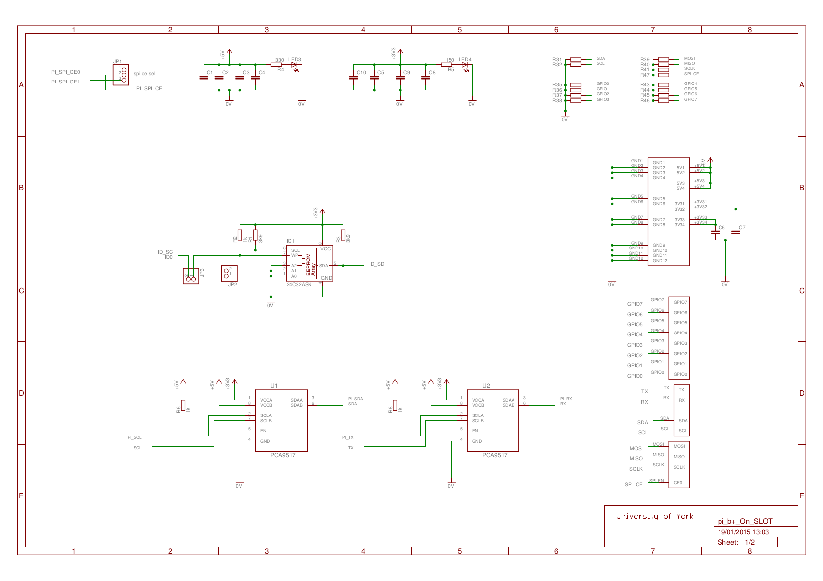 1st Year Raspberry Pi Interface System Raspberry Pi Power Supply Schematic on
