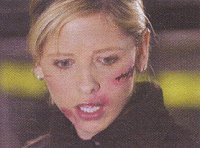 She will cut you.  Buffy Summers