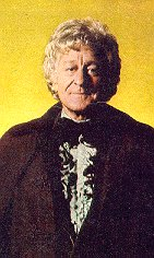 The late Jon Pertwee as 'Doctor Who'